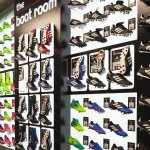 New Boot Room in the new and improved Sports Direct