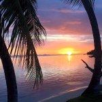 Coucher de soleil divin
