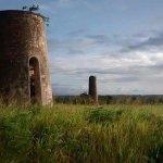 La route des moulins de Marie-Galante