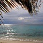 La plage de Vieux-fort devant l'îlet