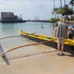 The Wa'a (outrigger canoe)