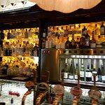 Nice bar area
