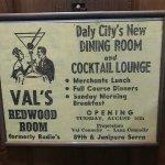 Foto de Val's Restaurant & Lounge