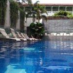 1.0 meter deep pool