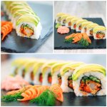 Drago Roll at LUX SUSHI