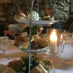 Lovely afternoon tea (including a vegetarian gluten free version) at a private function