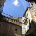 Parties de façades cour intérieure : le reste est à découvrir ...