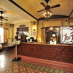 Historic Faust Hotel Lobby