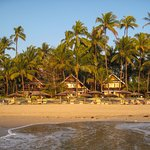 Strand mit Beach Front Villas