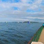 View from Lt. John J. McCorkle Fishing Pier.
