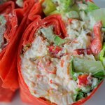Lobster Salad Wrap