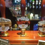 A number of local real ales are available too