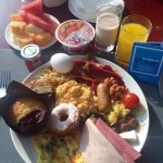 Superb breakfast esp the live cooking omelette