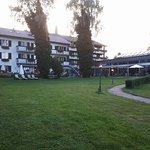 photo prise en direction de l'hôtel