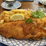 Best fish and chips around- beautiful!