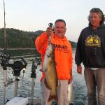 Catfish 11+ pounds caught trolling on Dale Hollow Lake
