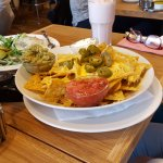 Nachos for one....great but couldn't eat the lot.