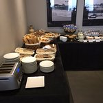 More of the breakfast buffet.