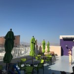 Roof top terrace on 24th floor