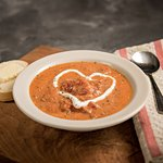 Our most popular soup - Tomato Basil!