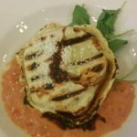 Grilled Florentine ravioli from Strada