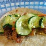 Bangkok shrimp tacos from White Duck Taco