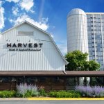 Harvest is located in the original dairy barn the resort was built around.