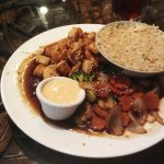 Chicken Hibachi with sauce