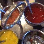 Sauces for Popadoms