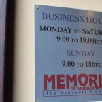 ....business hours notice