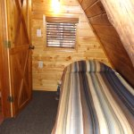 Cabin 13 with twin beds