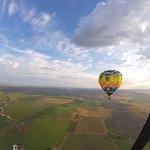 Bigfoot balloon above the valley.