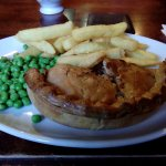 Nicely baked Beef Pie