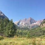 Nearby shuttle ride to hike the West Maroon Bells Trail to Crested Butte