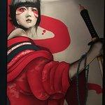 Sexy Samurai Girl at Yakuza