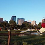 Sculpture Gardens and the MPLS skyline