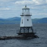 Burlington breakwater light