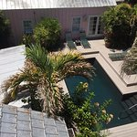 SC3 looking down at pool
