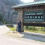Radium Hot Springs Foto