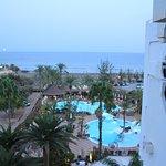 Blick zum Strand vom Zimmer 506