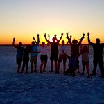 Our amazing group and incredible guide Sam!
