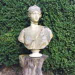 Esculturas en los jardines