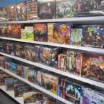 One of the largest tabletop game collection in the province.