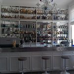Well stocked bar area
