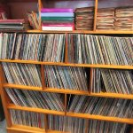 Used LPs and 45s.