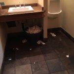 """Cedar"""" Floating Restaurant Men's room"""