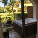 Privilege jr honeymoon suite. We loved our room and loved the privilege private beach area.