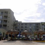 Photo of resort from the Beach