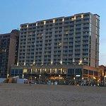 HGI Virginia Beach as seen from the beach
