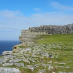 Dun Aengus, early in the morning before the crowds.